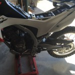 Adjust the CRF250L preload