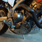 CRF250L  Emperor Racing Skid Plate and Radiator Guard Install