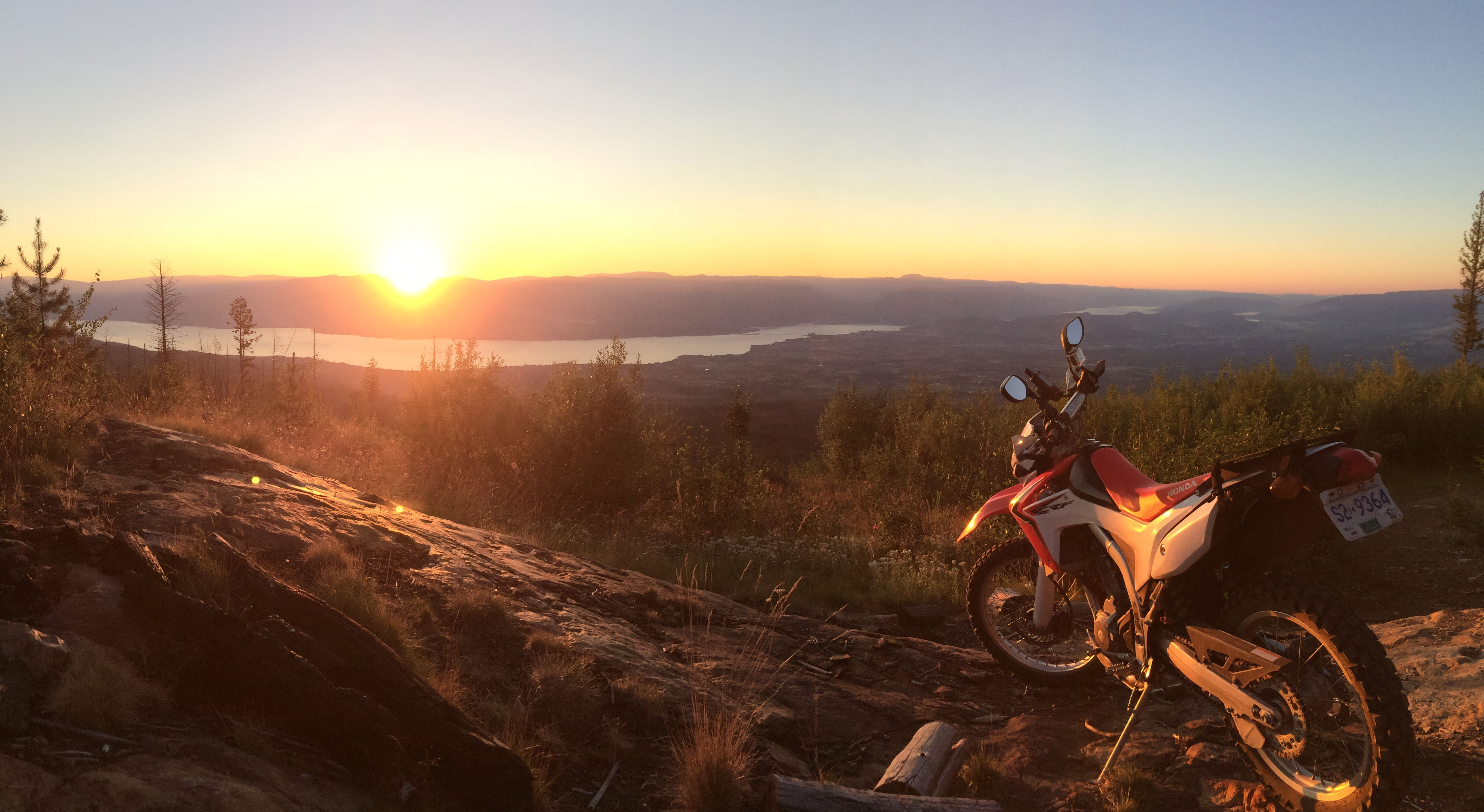 crf250l-sunset-view
