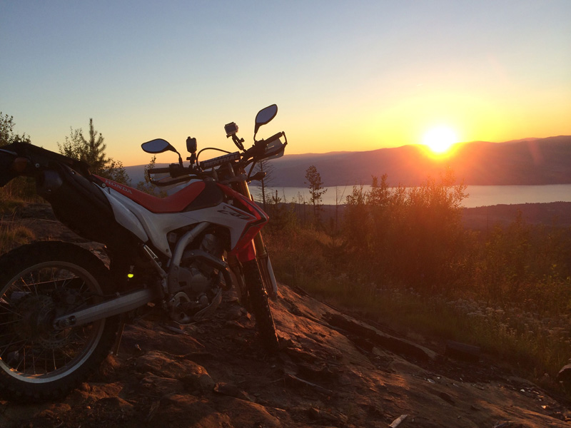 crf250l-sunset