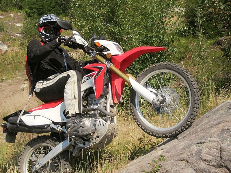 Honda CRF250L Rock Crawl